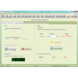 Einheitentrainer: Ubung-Umrechnung in kleinere Masseeinheiten